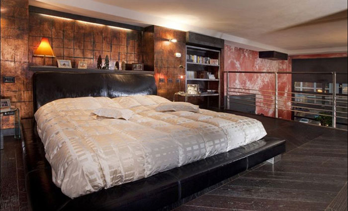 69795326206 Ideas for decorating your industrial style bedroom