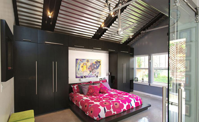 69800196443 Ideas for decorating your industrial style bedroom
