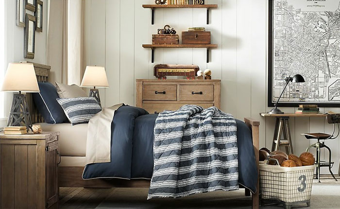 69800267283 Ideas for decorating your industrial style bedroom