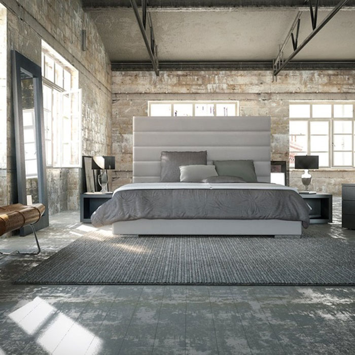 69800370030 Ideas for decorating your industrial style bedroom