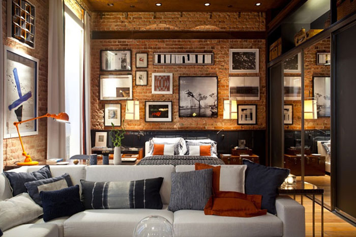 69800431216 Ideas for decorating your industrial style bedroom