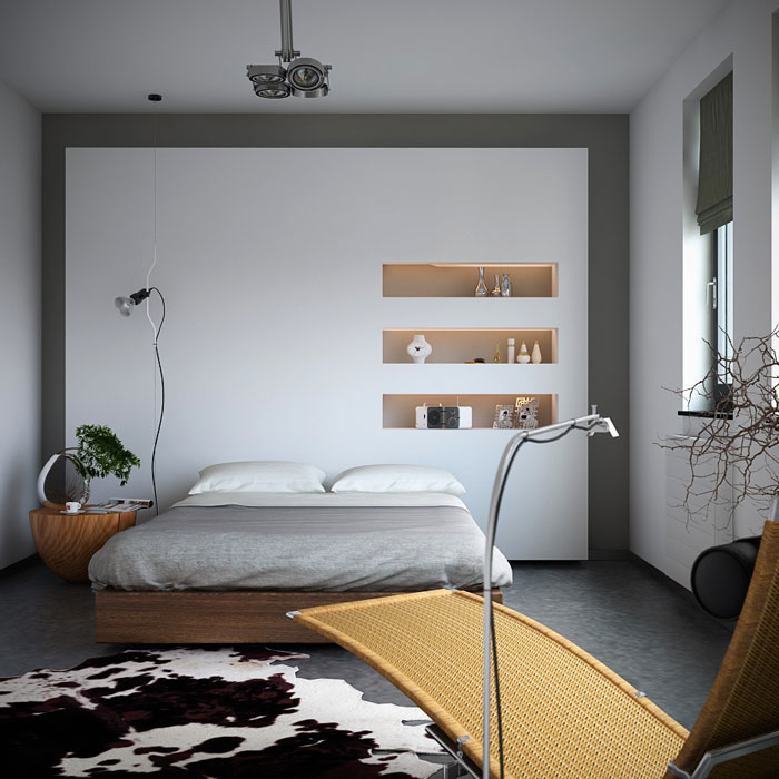 69800470046 Ideas for decorating your industrial style bedroom