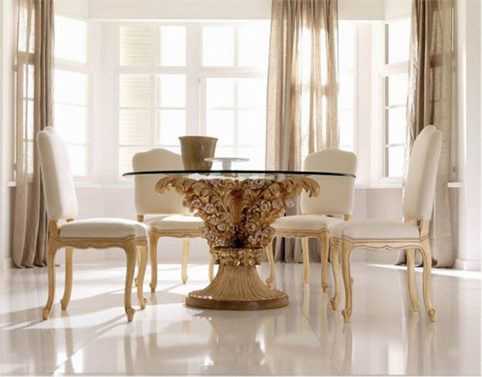 67958764156 Dining tables made of glass to give your interior a contemporary touch