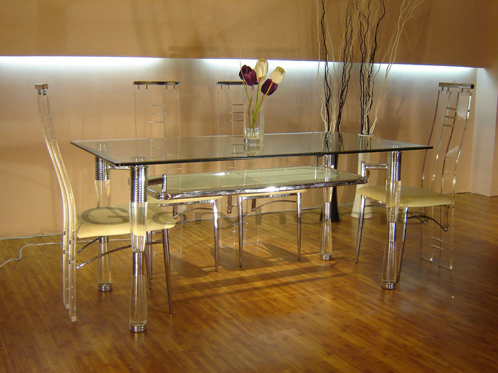 67958621249 Glass dining tables to add a contemporary touch to your interior design