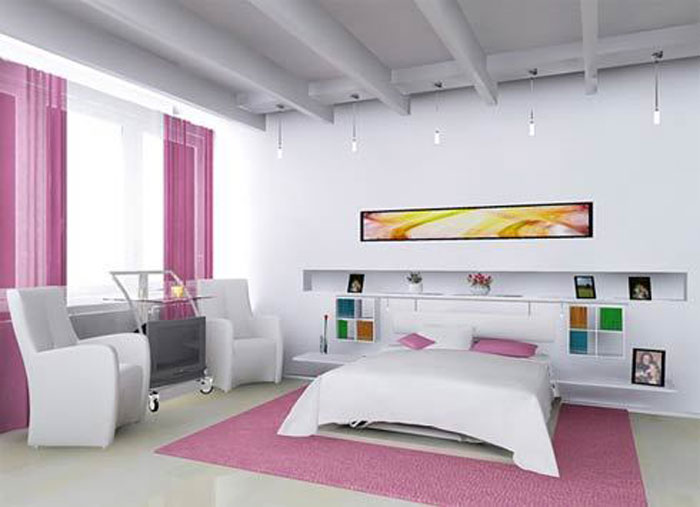 67468252572 A collection of colorful and modern bedroom designs