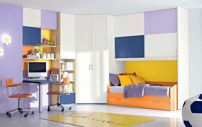 67468410922 A collection of colorful and modern bedroom designs