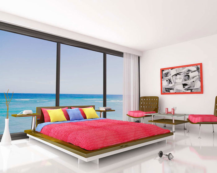 67468217775 A collection of colorful and modern bedroom designs