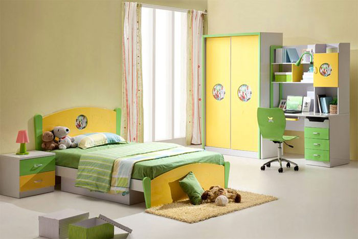 67468140228 A collection of colorful and modern bedroom designs