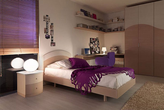67468365198 A collection of colorful and modern bedroom designs