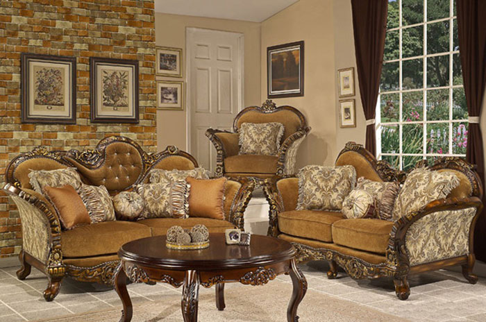 65797051650 The classic and stylish style of Victorian living rooms