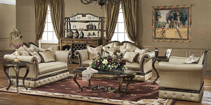 65797115846 The classic and stylish style of Victorian living rooms