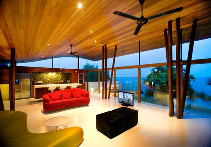 t2 Tropical living room designs from the corners of paradise