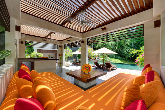 t10 Tropical living room designs from the corners of paradise