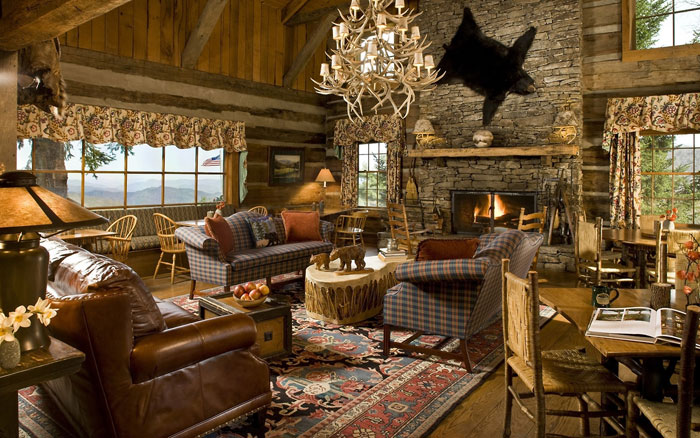64856182766 The beautiful interior of rustic living rooms