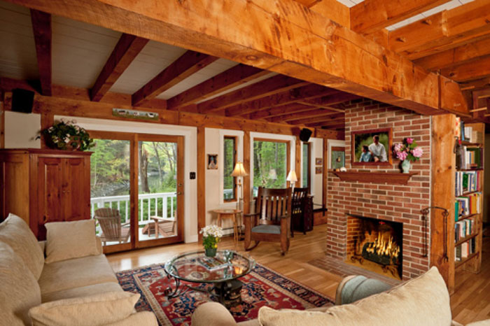 64856196936 The beautiful interior of rustic living rooms