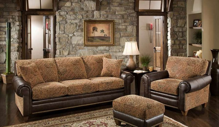 64856130943 The beautiful interior of rustic living rooms