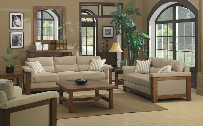 64856211601 The beautiful interior of rustic living rooms