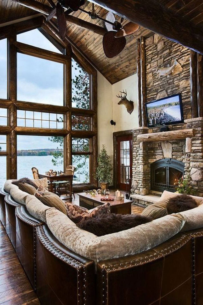 64856094149 The beautiful interior of rustic living rooms
