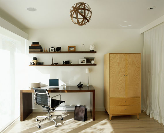c5 Simple and elegant office furnishings with modern influences