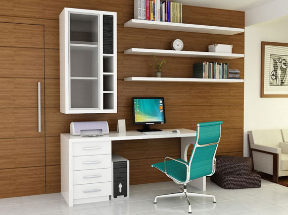 c9 Simple and elegant office furnishings with modern influences