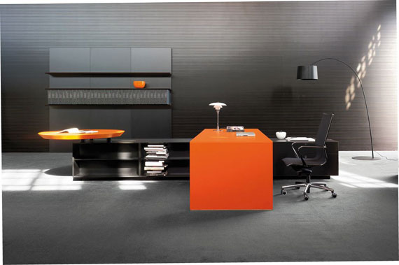 c22 Simple and elegant office furniture with modern influences