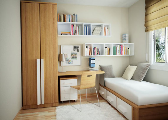 f28 Interesting floating bookshelves that would look great on your walls
