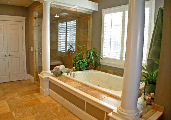 b14 Luxurious master bathroom design ideas that you will love