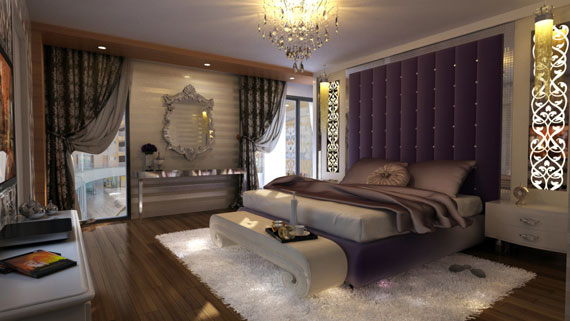 s6 Luxurious bedroom ideas with style