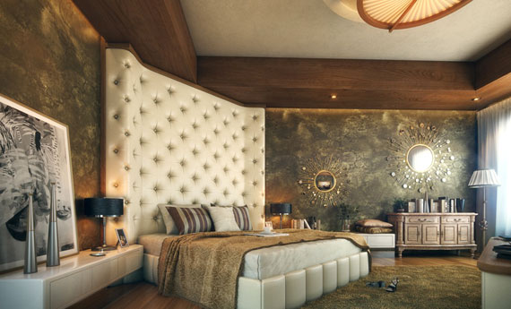 s15 Luxurious bedroom ideas with style