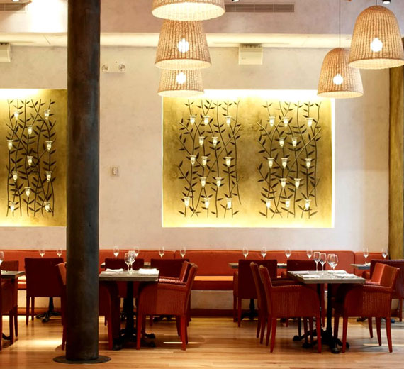 r7 Showcases of interior decoration of cafes and restaurants - 41 examples