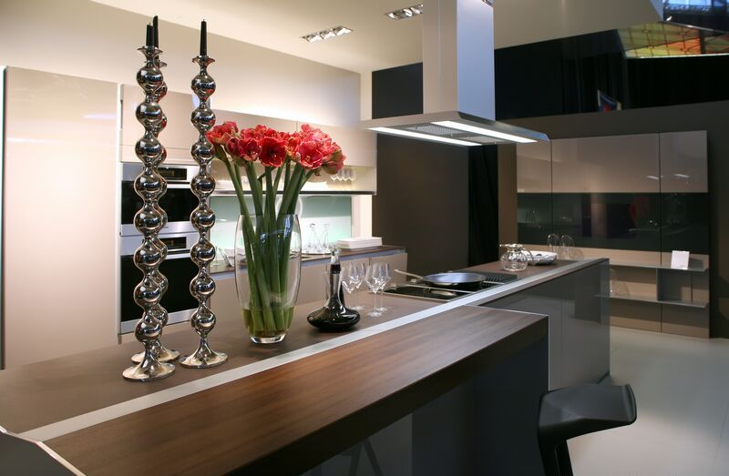 b18 The unexpected stylish look of black kitchen designs