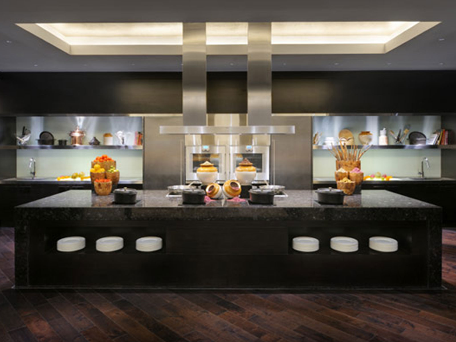 b34 The unexpected stylish look of black kitchen designs
