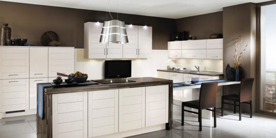 white2 Are you thinking of painting your kitchen cabinets?  Here are some pro secrets that need to be considered