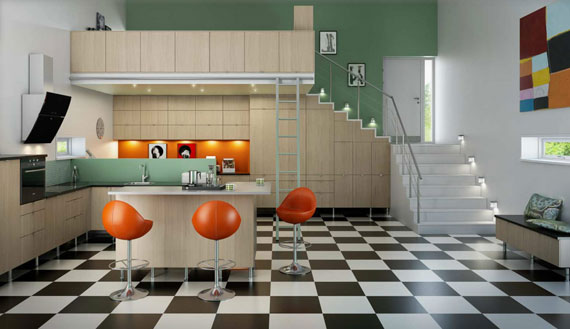 beige4 Are you thinking of painting your kitchen cabinets?  Here are some pro secrets that need to be considered