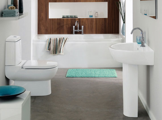 regular3 Attractive bath mats and carpets that improve the look of your bathroom