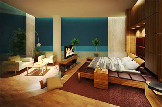 b3 A collection of modern bedroom furniture - 40 pictures