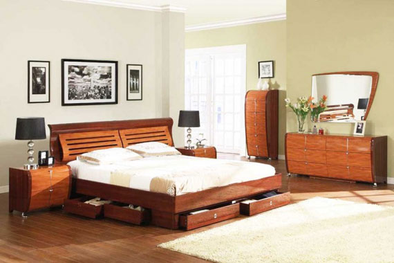 b24 A collection of modern bedroom furniture - 40 pictures