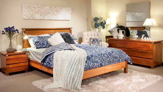 b22 A collection of modern bedroom furniture - 40 pictures