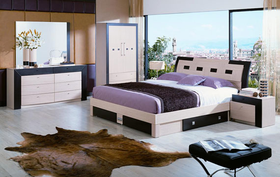 b28 A collection of modern bedroom furniture - 40 pictures