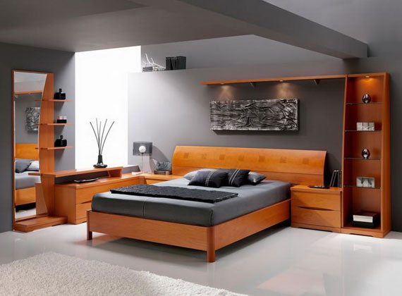 b33 A collection of modern bedroom furniture - 40 pictures