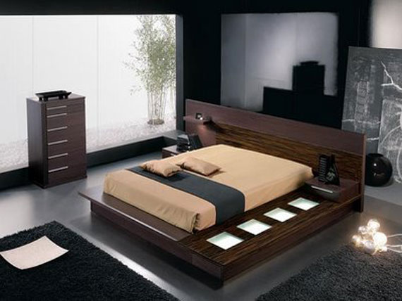 b32 A collection of modern bedroom furniture - 40 pictures