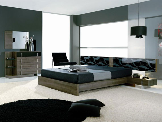 b34 A collection of modern bedroom furniture - 40 pictures