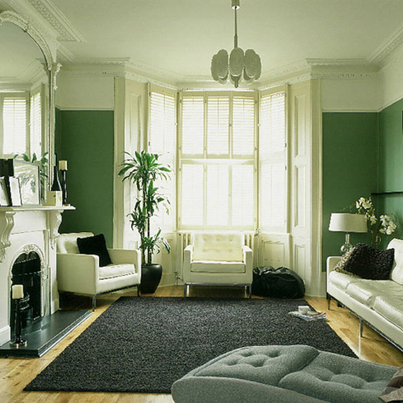g26 Green Living Room Design Ideas: Decorations and Furniture