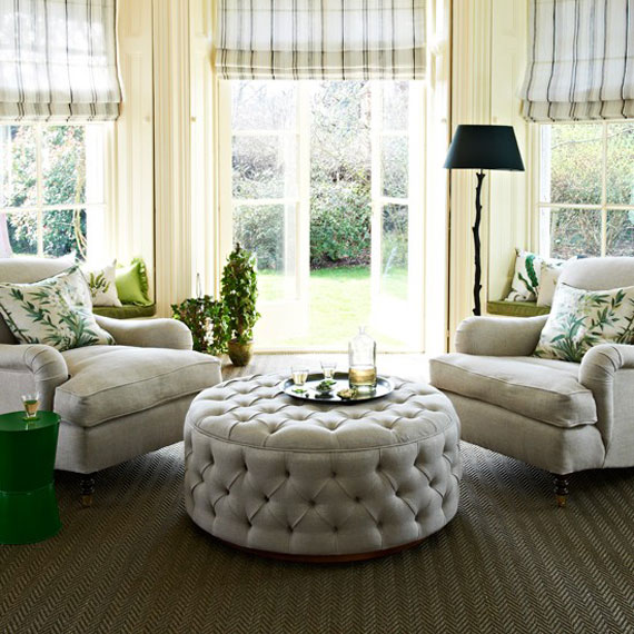 g29 Green Living Room Design Ideas: Decorations and Furniture