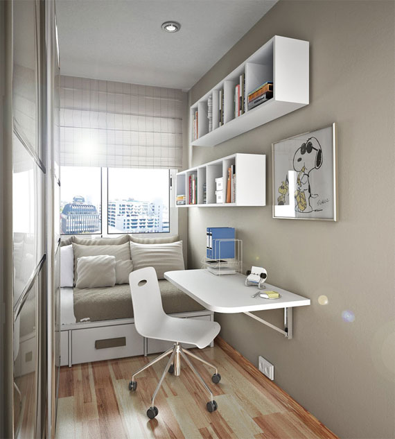 p12 Decorating small bedrooms with style - 34 examples