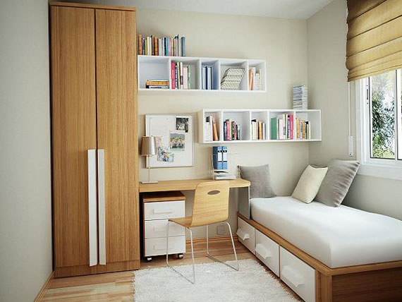 s5 Decorating small bedrooms with style - 34 examples