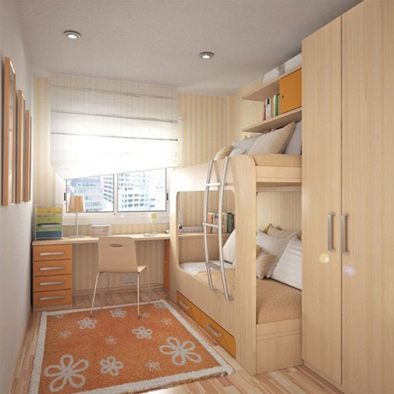 p21 Decorating small bedrooms with style - 34 examples