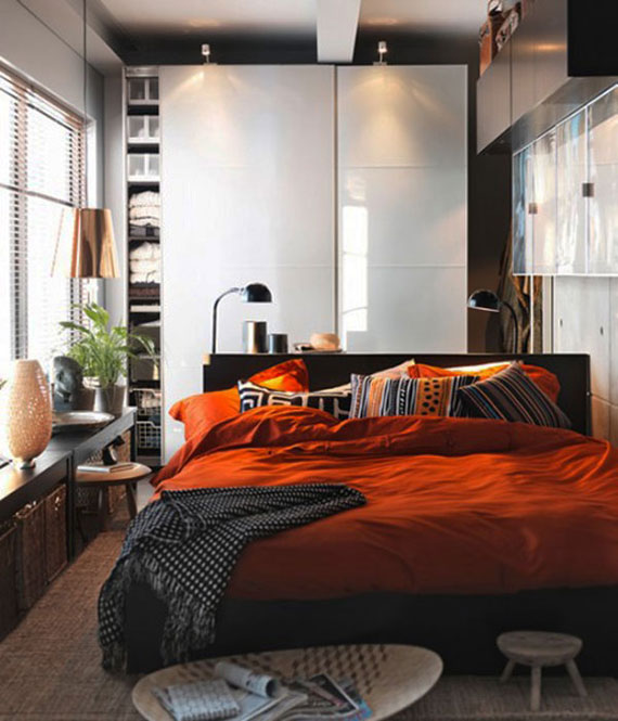 p17 Decorating small bedrooms with style - 34 examples