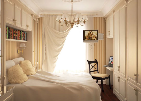 p19 Decorating small bedrooms with style - 34 examples