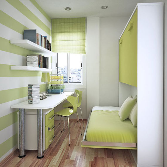 p29 Decorating small bedrooms with style - 34 examples